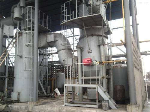 The flame arrestor is applied in incinerator.