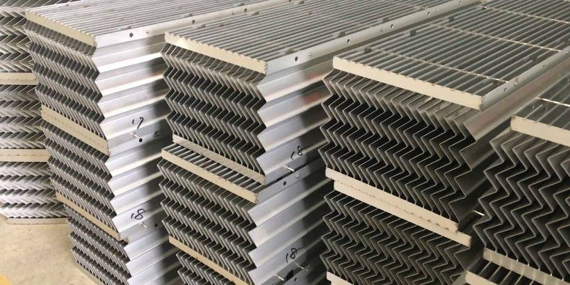 Mist Eliminators – Vane Type & Wire Mesh Pads in PP or SS Material